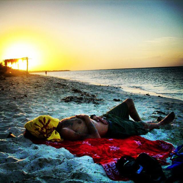 Atardecer de relax en Cayo Coco, Cuba