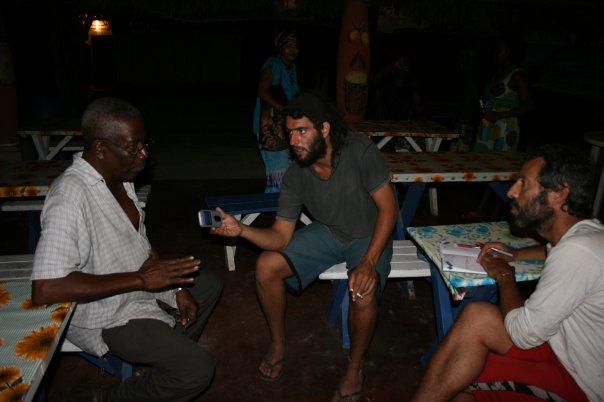 Comunidad garífuna de La Cruz.